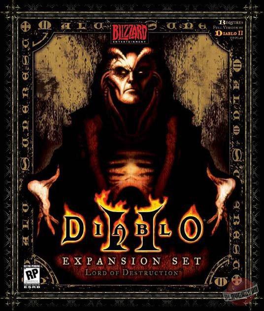Обложка Diablo 2